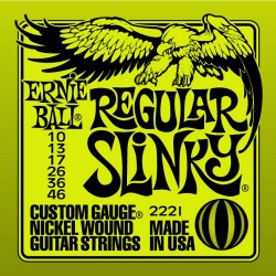Electric Guitar Strings Ernie Ball 2221 (10-46)