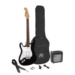 SX Electric Guitar Pack SE1SK-LHBK (left hand)