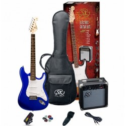 SX Electric Guitar Pack SE1SK-EB