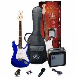 Elektriskās ģitāras komplekts SE1SK-EB