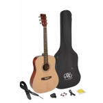 SX Acoustic Guitar Kit SD204K