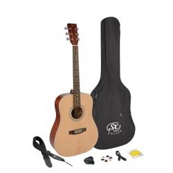 SX Acoustic Guitar Kit SD204K