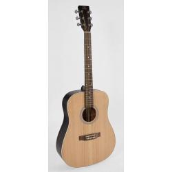 SX Acoustic guitar SD204-TBK