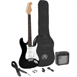 SX Electric Guitar Pack SE1SK-BK