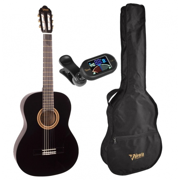 1/2 Classical Guitar kit Valencia VC102K-BK