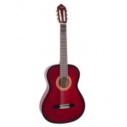 3/4 Classical Guitar Valencia VC103-RDS