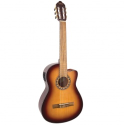 Valencia classical guitar with pickup VC304-CE-ASB