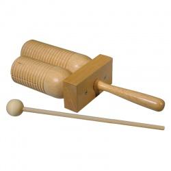 Hayman 2-tone tubular woodblock PA-34