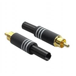 RCA plug MRCA-25-BK