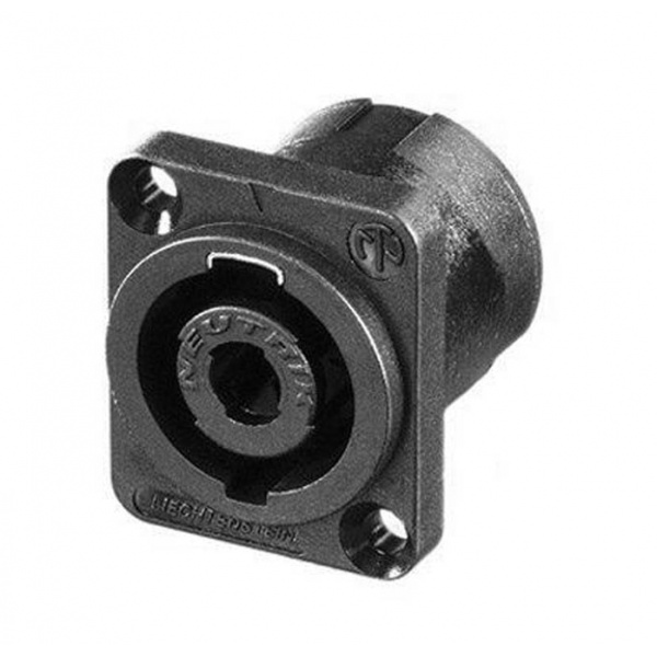 Neutrik speakon chassis connector NL-4-MP
