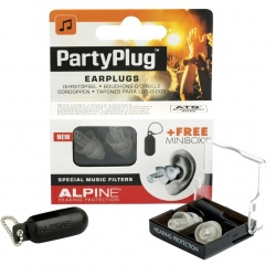 Alpine earplugs Partyplug MKII Transparent