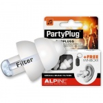 Alpine earplugs Partyplug MKII White