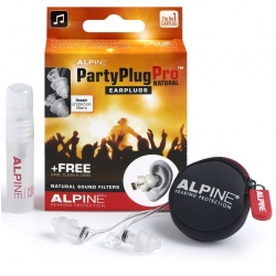 Alpine earplugs Partyplug Pro Natural