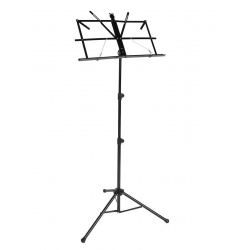 Music stand with bag MS50 BK