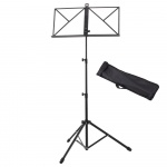 Music stand with bag SMS-750-BK