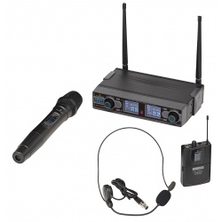 UHF Dual Digital Wireless Microphone System WF-D290HP