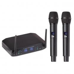 UHF Dual Digital Wireless Microphone System WF-U216HH