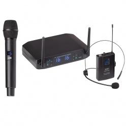 UHF Dual Digital Wireless Microphone System WF-U216HP