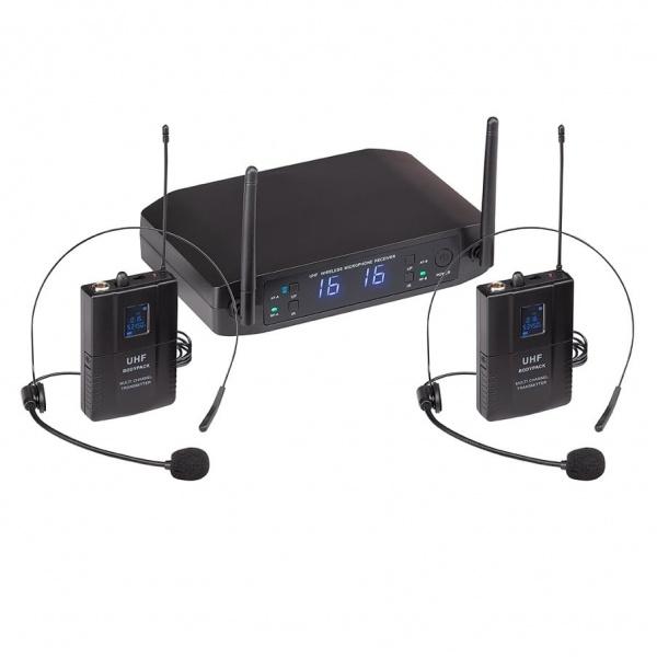 UHF Dual Digital Wireless Microphone System WF-U216PP