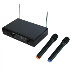 Wireless Microphone with 2 Handheld Mics WF-V21HHA