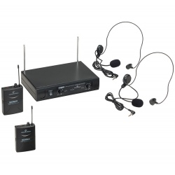 Wireless Microphone with 2 Handheld Mics WF-V21PPA