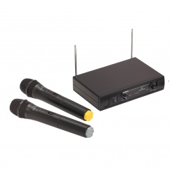 Wireless Microphone with 2 Handheld Mics WF-V21HHB