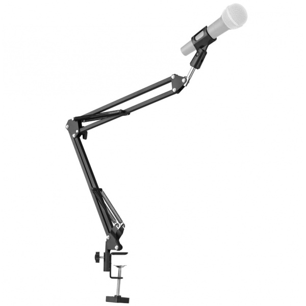 Microphone boom stand with table clamp MS-800