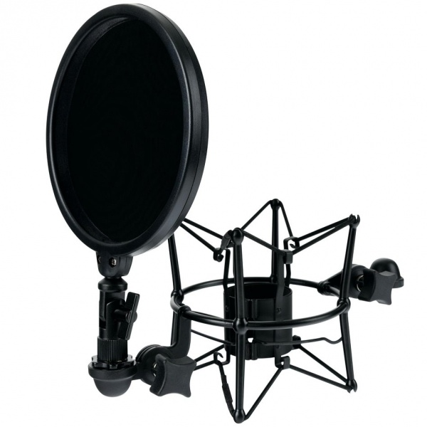 Microphone Shock Mount with Pop Filter MSP-45