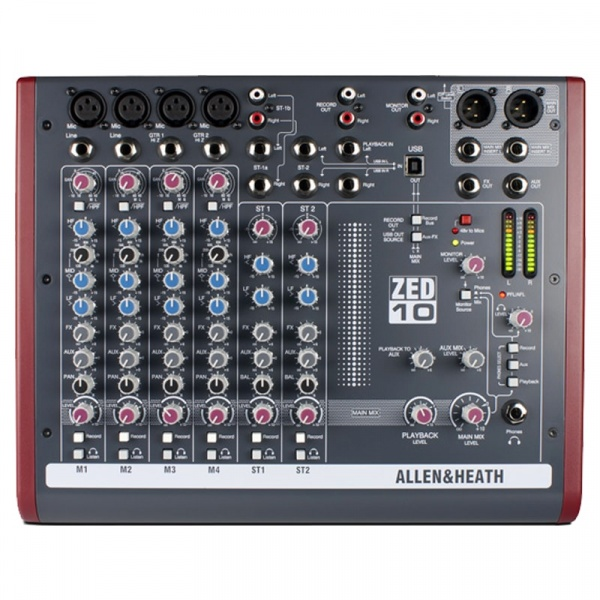 Mikserpults Allen & Heath ZED-1002