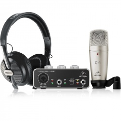 Behringer USB Audio Interface U-Phoria Studio