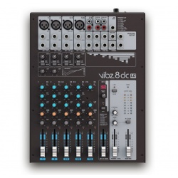 LD Systems Mixer VIBZ 8 DC