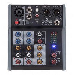 5-Channel Professional Audio Mixer Miomix-104