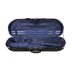 4/4 Size Violin Hard Case Leonardo VC-1844-BU