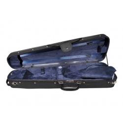 4/4 Size Violin Hard Case Leonardo VC-1444-BU