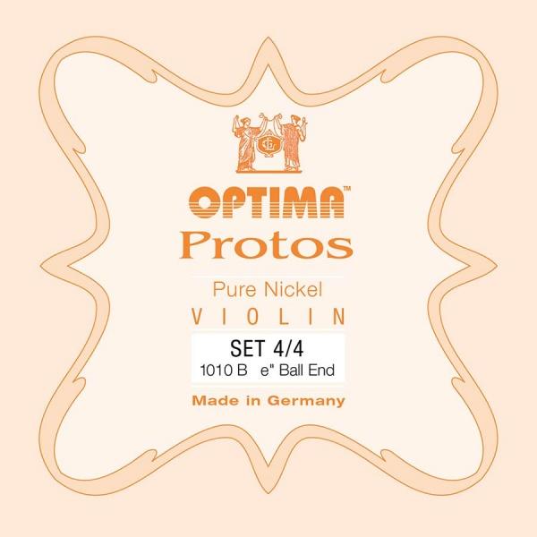 Optima Protos string set for violin 1010B-44