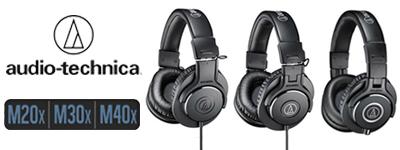 Audio-Technica ATH-M sērijas austiņas