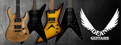 New - Dean guitars and basses