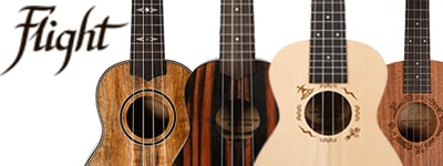 Flight ukuleles