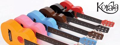 Jaunums - Korala PUC sērijas ukuleles