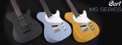 Cort MS Series Electric Guitars