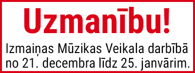 New guidelines in Mūzikas Veikals operation, following the new restrictions